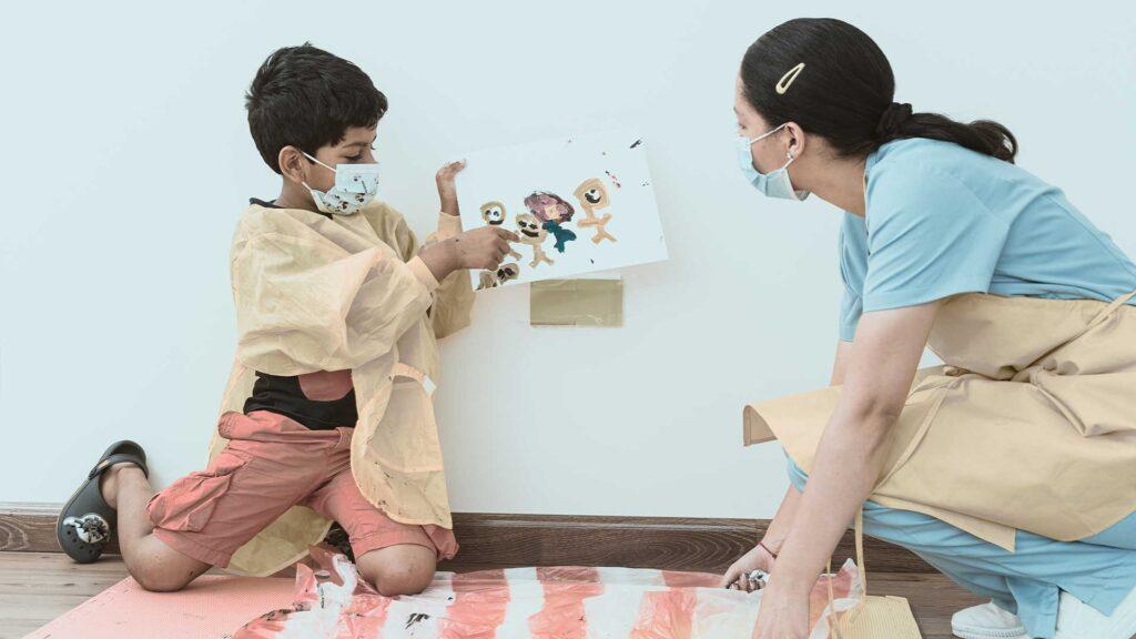 Child care services- child education